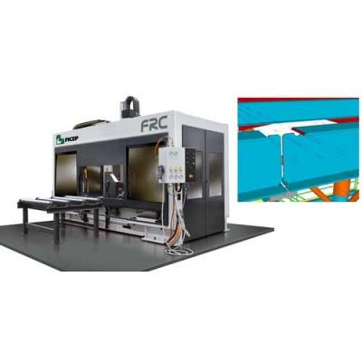 Linie CNC cu plasma si oxy-gaz decupare profile si tevi FRC