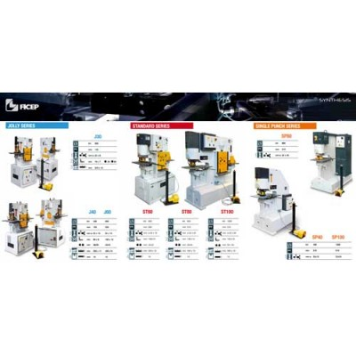 Masini de perforare si forfecare hidraulice (J30,J40,J60,ST80,ST100)